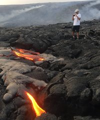 Bike N Hike To Pele Active Lava Tour