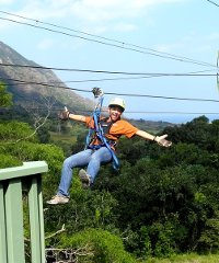 Zipline Cusotmized Packages - Kualoa Ranch
