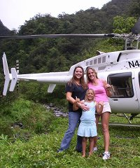 Kona Family Helicopter Ride and Zipline