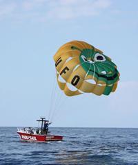 Deluxe Ride - UFO Parasail Big Island
