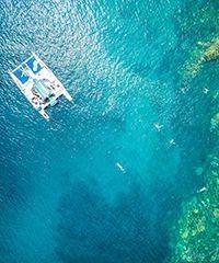 Reserve the Sea Maui with the Lanai Snorkel Sail.