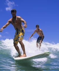 Hawaii Surf Lessons are popular on all the islands.
