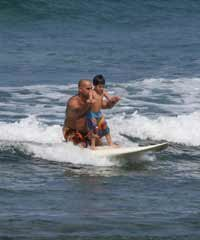 Surf Activities on Big Island