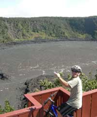 Kilauea Volcano Bike and Lava-Hilo