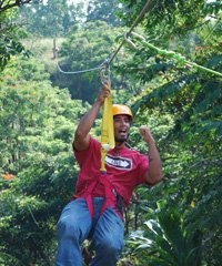 Rainforest Zip Line - Hilo