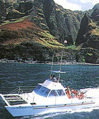 Na Pali Coast Morning Tour - Catamaran Kahanu