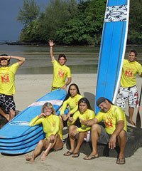 Surf Lesson - Hawaiian Surfing Adventures