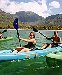 Hanalei Bay Kayak Explorer Tour - Kayak Hanalei / Hanalei Wave Riders