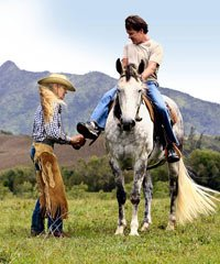 Ranchland Riding, Hiking and Kayaks, Kayaks and Hiking, Zip-line, Zip-line Tour and Adventure, Kids Ad