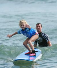 Kayak and Surf School Lessons