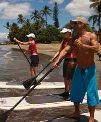 Stand Up Paddle Lesson - Maui Waveriders on Maui