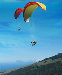 Proflyght Hawaii Paragliding 1000 Feet