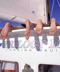Deluxe Kaanapali Sunset Sail - Trilogy Excursions