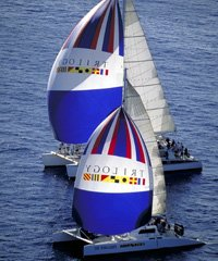 64' - 55' - 51' Sailing Catamarans, 55' Sailing Catamaran, 55' Catamaran to