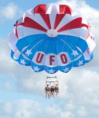 Out of this World 1200 Feet - UFO Parasail Big Island