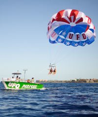 Early Bird Special Ride - UFO Parasail - Maui