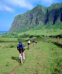 100% DIRT Mtn Bike at Kualoa  - Bike Hawaii