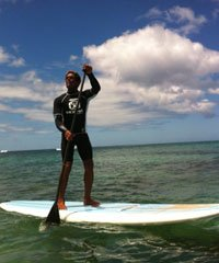 Stand Up Paddle Lesson Advance
