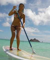 Stand Up Paddling Self Guided