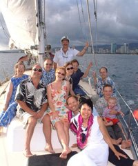 Oahu Private Sail & Snorkel, Mimosa Sunrise, Sunset Dinner, Whale Watch Tours, Ash Scatterings