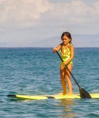 Private Makena SUP and Snorkel Tour