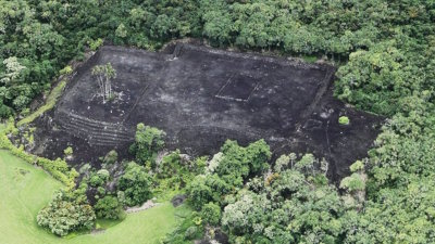 The Controversy over Ancestral Hawaiian Burial Grounds.