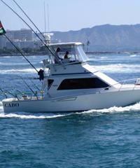 35' CABO Sportfishing Vessel