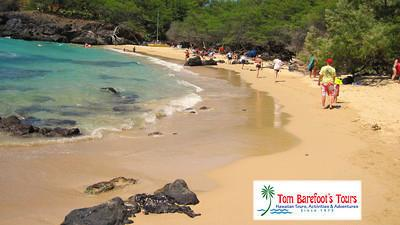 Beautiful Waialea Beach is Easy for Visitors to Find and Access