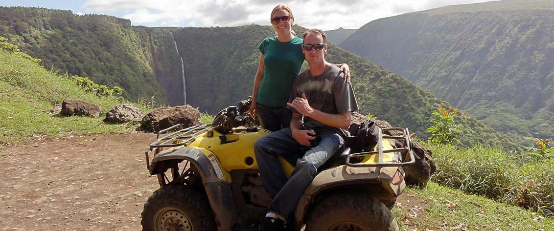 The Big Island has amazing ATV Tour locations.