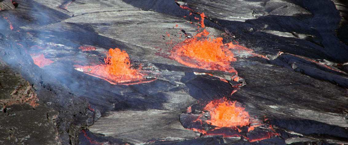 Live Volcano Tours are the most exciting tours offered on the Big Island.