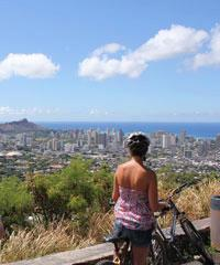 Oahu Bike and Volcanic Hike