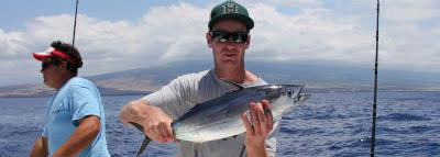 Travel Blog #126 - Deep sea fishing in Kona with Bite Me Charters