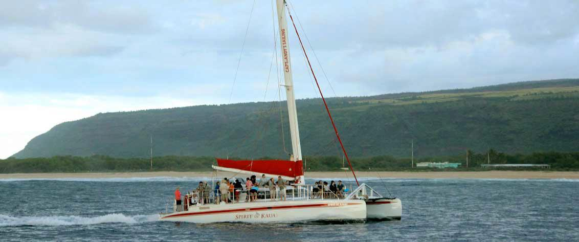 Sailing charters and tours in Hawaii.