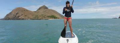 Travel Blog #124 - Stand Up Paddleboarding to the Mokuleia Islands