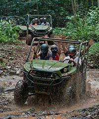 Waterfall Picnic UTV Tour - Kipu Ranch Adventures