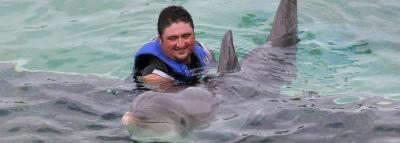 Travel Blog #128 - Swimming with Dolphins at Sea Life Park