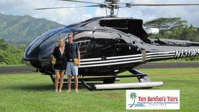 Sunshine Helicopters offers First Class Seating
