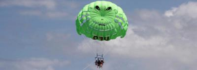 Travel Blog #121 - Year round Kona Parasail with UFO (By Jake)
