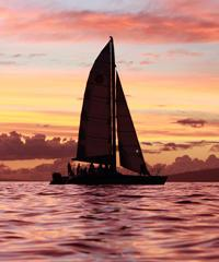 Paragon/Alihilani -  Lahaina Sunset Sail with Champagne - Paragon Sailing Charters
