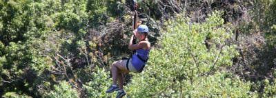 Travel Blog #131 - Ziplining Kohala with BIEA