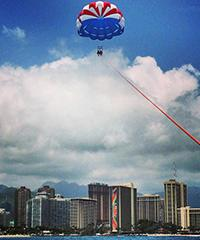 Whale Parasailing - 1,000 Feet - Paradise Watersports