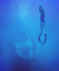 Intermediate Freediver St. Anthony's Shipwreck