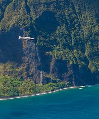 Molokai Sea Cliffs 60 Minute Flight