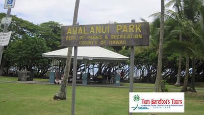 Facilities at Ahalanui Park