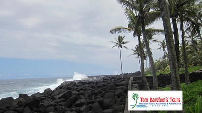Ocean Coastline at Ahalanui Park