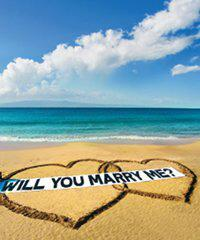Beach Marry Me Proposal Tour