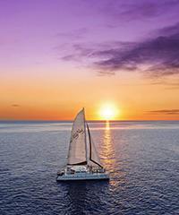 Sunset Sail -  Alii Nui Sailing Charters
