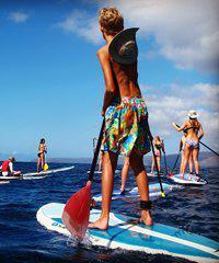 Group Stand Up Paddle Board