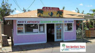 Annies Island Shave Ice in Lahaina