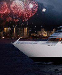 Oahu Majestic's Friday Fireworks Appetizer Cruise